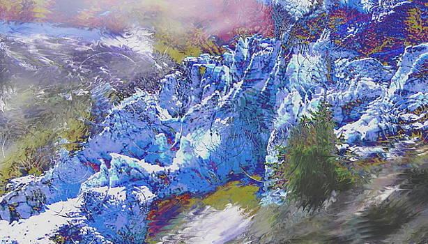 glacier Argentiere by Danielle Arnal