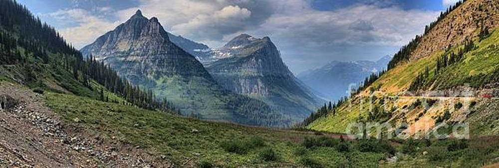 Adam Jewell - Glacier Big Bend View Panorama
