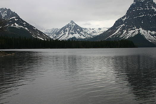 Glacier in Gray by Nelson and Cheryl Strong