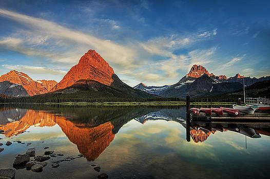 Glacier Morning by Andrew Soundarajan