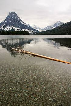 Glacier Reflections - Pray Lake by Nelson and Cheryl Strong