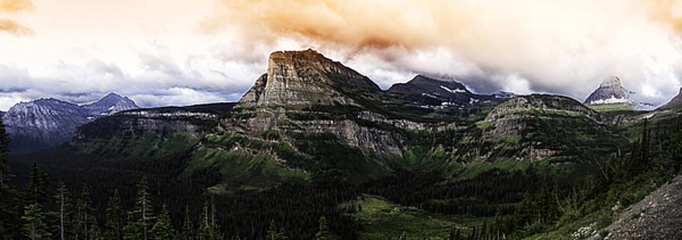 Glacier Sunrise by Alex Isom