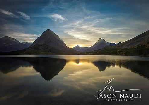 Glacier Sunset by Jason Naudi