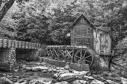 Steve Harrington - Glade Creek Grist Mill 2 bw