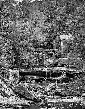 Steve Harrington - Glade Creek Grist Mill 3 bw
