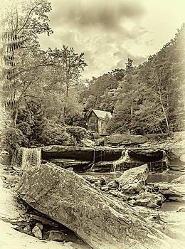 Steve Harrington - Glade Creek Grist Mill 4 - Sepia