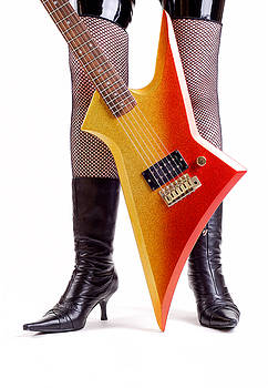 Glam Rock Guitar by Norman Pogson