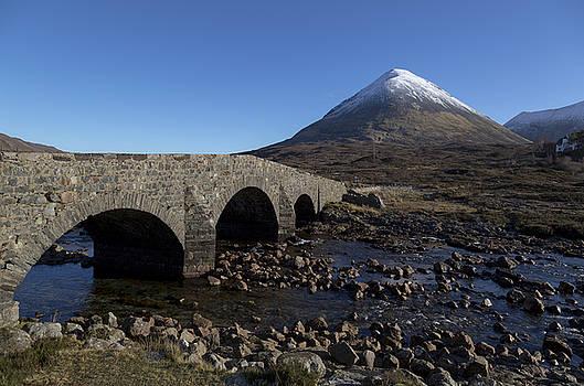 Glamaig and the Sligachan Bridge by Derek Beattie