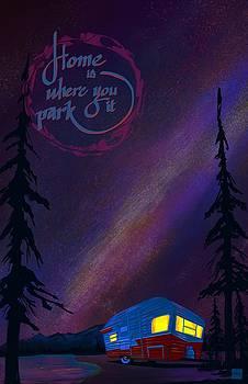 Glamping under the stars by Sassan Filsoof
