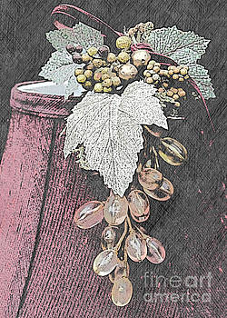 Glass Grapes by Sherry Hallemeier