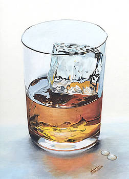 Glass of Whisky by Pat Thompson
