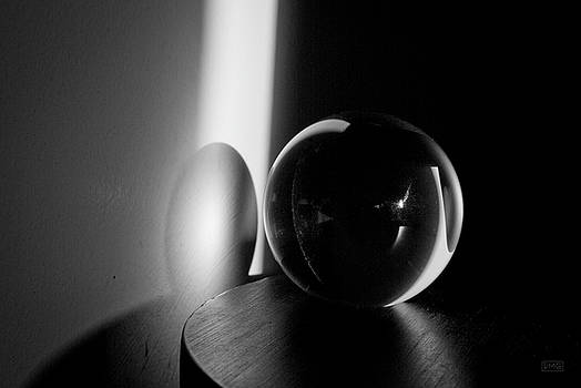 David Gordon - Glass Sphere in Light and Shadow