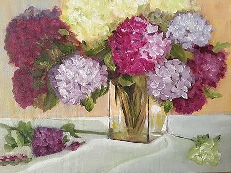 Glass Vase by Sharon Schultz