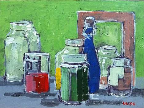Glasses and Jars by Fred Urron