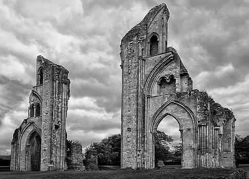 Glastonbury Abbey by Elvira Butler