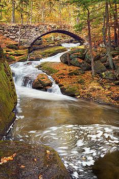 Gleason Falls Stone Bridge Swirl by Shelle Ettelson