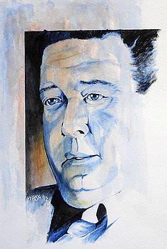 Gleason in The Hustler by William Walts