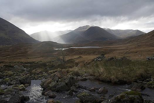 Glen Affric storm by Sue Arber
