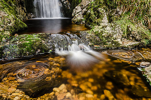 Glenevin waterfall clonmany by Martina Fagan