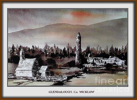 Glendalough, Co. Wicklow by Val Byrne