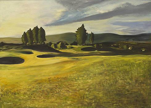 Gleneagles Queens Course by Christina Knapp