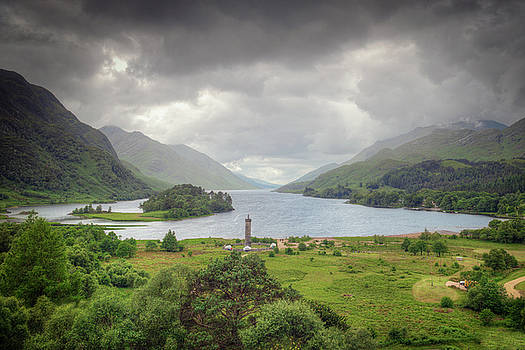 Glenfinnan Valley by Ray Devlin