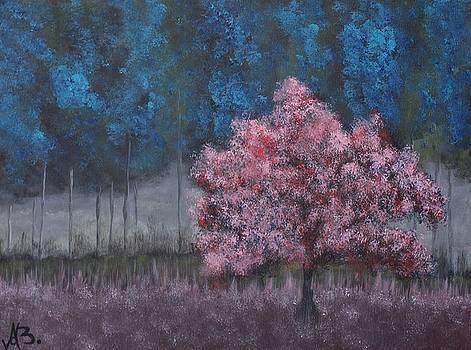 Glimmering Shade by Angela  Bautista-Diaz