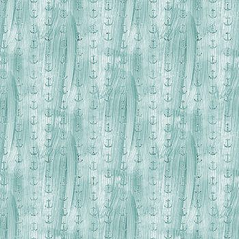 Glittery Mint Anchors by P S