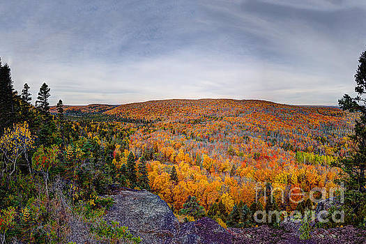 Glorious Autumn Lutsen Mountain Resort North Shore Minnesota by Wayne Moran