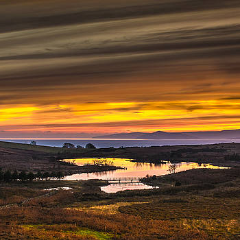 Glorious Sunset Over Fairlie Moor by Tylie Duff