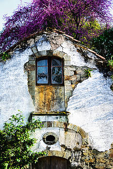 Glowing Old Window in Portugal by Marion McCristall