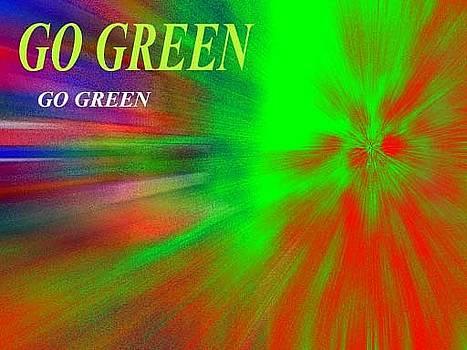 Go Green by Aldonia Bailey