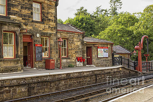 Patricia Hofmeester - Goathland railway station, Train station from Harry Potter