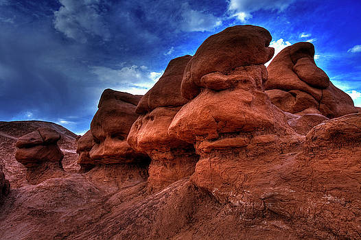 Goblin Valley Textures by Mike Flynn