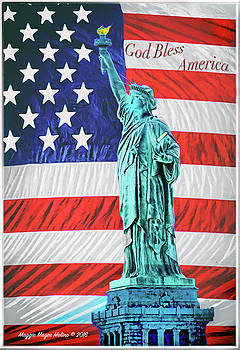 God Bless America by Maggie Magee Molino
