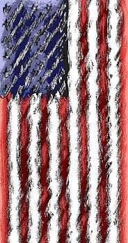 God Bless America Renoir by Brad Walters