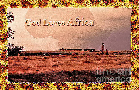 God Loves Africa by Lydia Holly