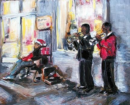 God Rest Ye Merry Gentlemen by Sheila Tajima