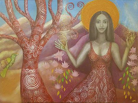 Goddess of Abundance by Alice Mason