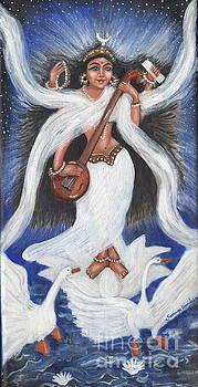 Goddess of Arts by Saranya Haridasan
