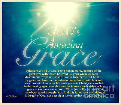 God's Amazing Gift of Grace by Kimberlee Baxter