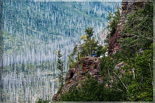 Mick Anderson - Going To The Sun Road and Western Burn Area in Glacier National Park