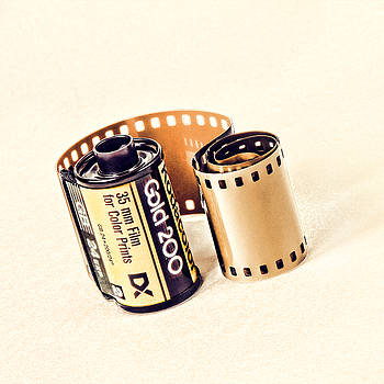 Gold 200 Film Roll by Vicki McLead