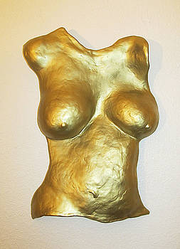 Gold Body Cast by Dedo Cristina