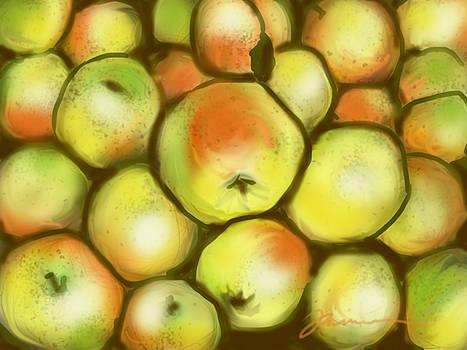 Golden Apples by Jean Pacheco Ravinski
