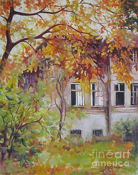 Golden autumn by Elena Oleniuc