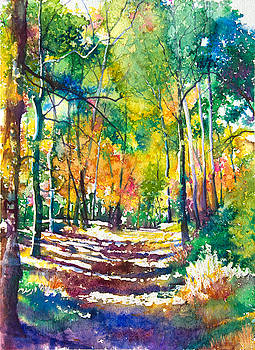 Golden Autumn by Patricia Allingham Carlson