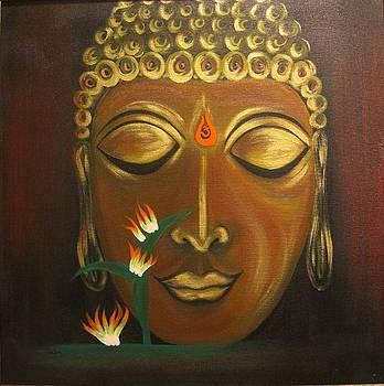 Xafira Mendonsa - Golden Buddha