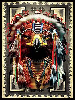 Golden Eagle Chief by Orlando Baca