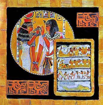Golden Egypt by JAXINE Cummins